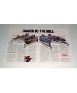 1989 Astro Boat Ad - Quickfire 19FD, 18FS, Lake Sport - $14.99