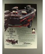 1990 Fisher Marsh Hawk 3V Boat Ad - Run Number One - $14.99