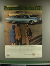1967 Cadillac Car Ad - First Choose Cadillac - $14.99