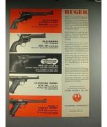 1957 Ruger Blackhawk, Single-Six, Standard Gun Ad! - $14.99