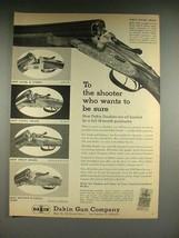 1958 Dakin Shotgun Ad: Luxury, Over & Under, Extra + - $14.99