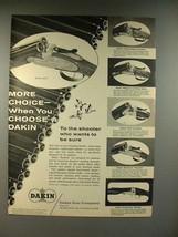 1959 Dakin Shotgun Ad - More Choice! - $14.99