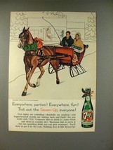 1960 7-up Soda Ad - Trot Out Seven-Up Everyone! - $14.99