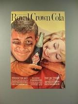 1961 RC Royal Crown Cola Soda Ad! - $14.99