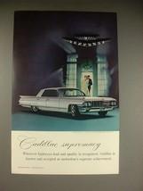 1961 Cadillac Sedan de Ville Car Ad - Supremacy! - $14.99