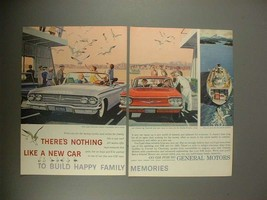 1960 Chevrolet Impala Convertible, Corvair Car Ad! - $14.99