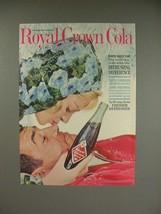1961 Royal Crown Cola Soda Ad! - $14.99