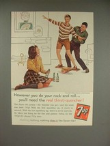 1960 7-up Soda Ad - However You Rock-and-Roll - $14.99