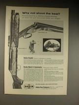 1962 Dakin Breda Grade IV, Model 110, 180 Shotgun Ad - $14.99