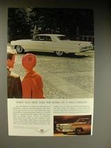 1964 Cadillac Car Ad - When you First Take Wheel - $14.99