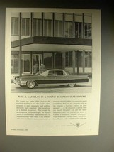 1964 Cadillac Car Ad - Sound Business Investment - $14.99