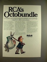 1970 RCA Computer Ad - RCA's Octobundle - $14.99