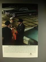 1964 Cadillac Car Ad - When Chauffeurs Talk - $14.99