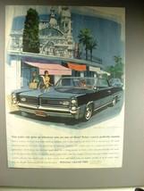 1963 Pontiac Grand Prix Car Ad - Pulse Rate Goes Up! - $14.99