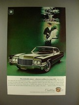 1970 Cadillac Hardtop Sedan DeVille Car Ad - Winner! - $14.99