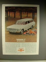 1963 Chevrolet Impala Station Wagon Car Ad! - $14.99