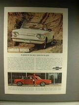 1963 Chevrolet Corvair Monza - Purrs for the Girls - $14.99