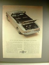1963 Chevrolet Corvair Convertible Car Ad! - $14.99