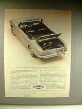 1963 Chevrolet Corvair Convertible Car Ad! - $14.99