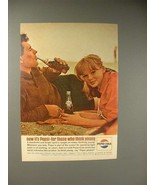 1964 Pepsi-Cola Soda Ad - Pepsi For Those Who Think Young - $14.99