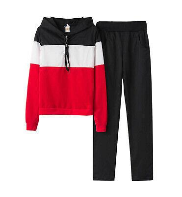 Women's Ziranmei Fashion Tracksuit Two-piece Style Outfit Sweatshirt Sport Wear