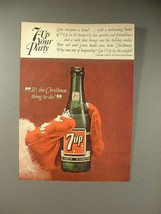 1964 Seven 7-Up Soda Ad - 7-Up Your Party - $14.99