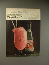 1964 Seven 7-Up Soda Ad - Wins the Straw Vote - $14.99