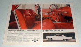 1964 Chevrolet Impala Super Sport Coupe Car Ad! - $14.99