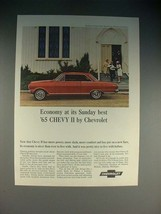 1965 Chevrolet Chevy II Nova Super Sport Coupe Car Ad - $14.99
