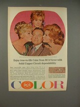 1965 RCA TV Ad: Bob Hope, Marilyn Maxwell, Jill St John - $14.99