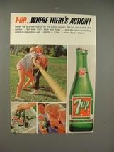 1965 Seven 7-up Soda Ad - $14.99