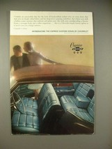 1965 Chevrolet Caprice Custom Sedan Car Ad! - $14.99