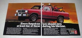 1985 Dodge Ram Pickup Truck Ad - Every Boy Should Own - $14.99
