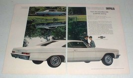 1966 Chevrolet Impala Super Sport Coupe Car Ad! - $14.99