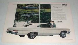 1966 Chevrolet Impala Super Sport Coupe Car Ad! - $14.99