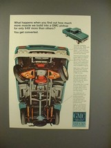 1966 GMC Pickup Truck Ad - You Get Converted! - $14.99