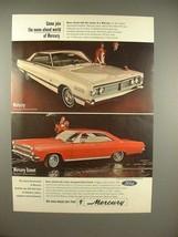 1966 Mercury Park Lane, Comet Cyclone Car Ad! - $14.99
