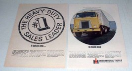 1966 International Harvester CO-4000 Truck Ad! - $14.99