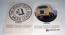 1966 International Harvester CO-4000 Truck Ad! - $14.99