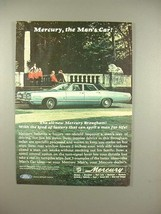 1966 Mercury Brougham Car Ad - The Man's Car! - $14.99