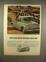 1966 International Harvester Pickup Truck Ad! - $14.99