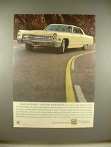 1966 Cadillac Car Ad - Take the Wheel, Lose Your Heart - $14.99