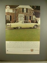 1966 Cadillac Car Ad - Commuting Can't be Glamorous? - $14.99
