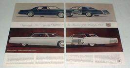 1967 Cadillac Eldorado, Sedan de Ville Car Ad! - $14.99