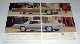 1967 Cadillac Fleetwood Brougham, Fleetwood Eldorado Ad - $14.99