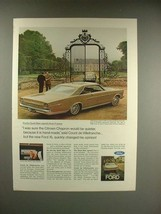 1966 Ford XL Car Ad - Count de Villefranche - $14.99