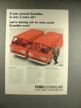1966 Ford Econoline Van, SuperVan Ad - Missing Out - $14.99