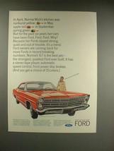 1967 Ford Galaxie 500/XL 2-Door Hardtop Car Ad - $14.99