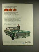1967 Ford LTD Car Ad - The Traveling Salesman - $14.99