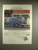 1966 Ford SuperVan Ad - Top Maneuverability - $14.99